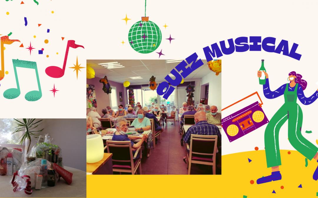 21 JUIN : quiz musical à l'occasion de la fête de la musique